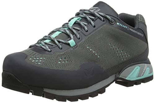 MILLET Women's Trail Walking Shoe, Castle Gray, Womens 8