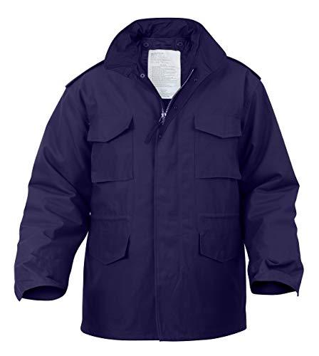 Rothco M-65 Field Jacket, Navy Blue, S