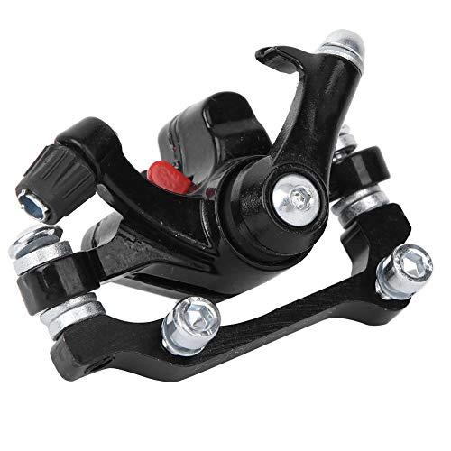 Alomejor Fahrrad Scheibenbremsen Aluminiumlegierung Rennrad Radfahren Vorne/Hinten Mechanische Scheibenbremssättel(160/180)
