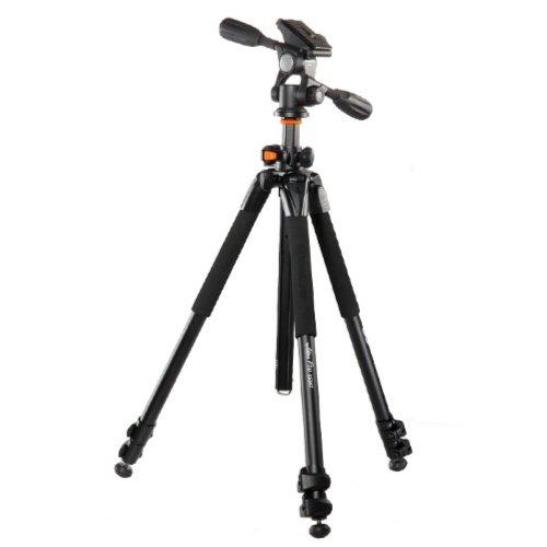 Vanguard Alta Pro 263AP Stativ Digitale Film/Kameras 3 Bein(e) Schwarz, Silber - Stative (Digitale Film/Kameras, 4,99 kg, 3 Bein(e), 177,5 cm, Schwarz, Silber, Flip-Lock)