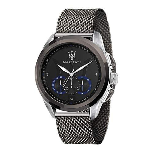 Orologio da uomo, Collezione Traguardo, movimento al quarzo, cronografo, in acciaio - R8873612006