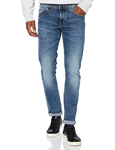 ARMANI EXCHANGE 6HZJ14 Jeans, Indigo Denim, 32W x 34L Uomo