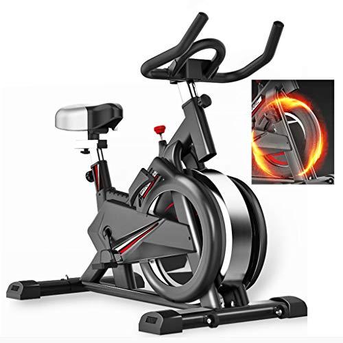 Hometrainer, Dynamic Silent Sports Bike, Indoor Smart Game APP Self-Cycling Bike Geschikt voor Office, Outdoor, Family,Black