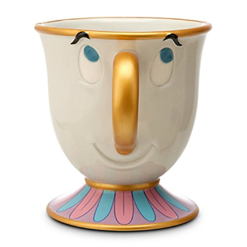 Disney Parks Beauty and the Beast Chip Ceramic Mug