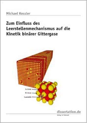 Zum Einfluss des Leerstellenmechanismus auf die Kinetik binärer Gittergase