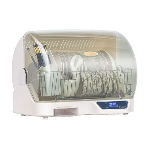 Mini Armadio per La Disinfezione Piccolo, Asciugatrice per Piatti da Cucina per Desktop Domestico, Sterilizzazione UV + Deodorizzazione Ionica Negativa