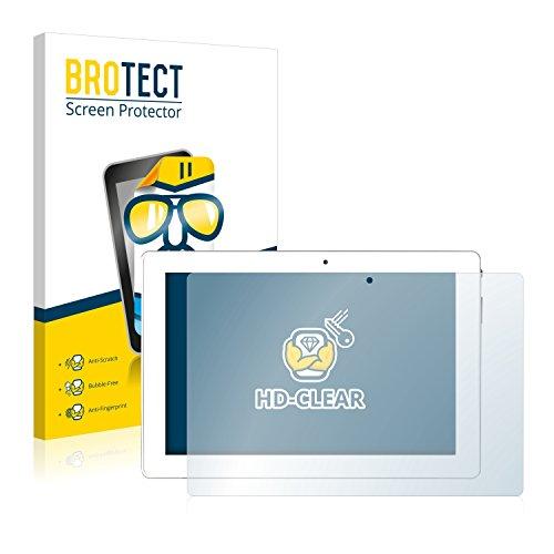BROTECT Schutzfolie kompatibel mit Medion Lifetab P10356 (MD 99632) (2 Stück) klare Bildschirmschutz-Folie