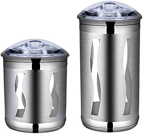 Food Storage Canisters 2021 spring and summer Memphis Mall new Jars 2-Piece Kitchen Coffee Set Canister