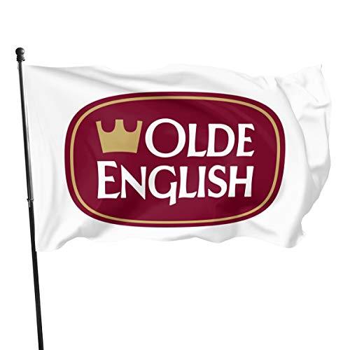 N/ Fahne/Olde English 800, Polyester, 3 x 12,7 cm, Polyester, Schwarz, Einheitsgröße