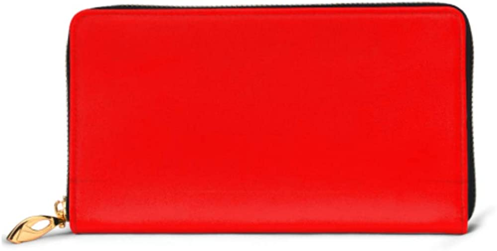 Fashion Handbag Zipper Wallet Luxury Red Abstract Background Christmas Valentines Phone Clutch Purse Evening Clutch Blocking Leather Wallet Multi C