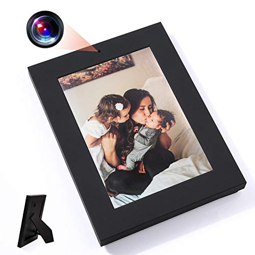 LMGL Photo Frame Camera HD 960P Pet Baby Monitor Picture Frame Camera with Motion Detection, No WiFi, Wirless Mini Video Recorder for Home and Office.