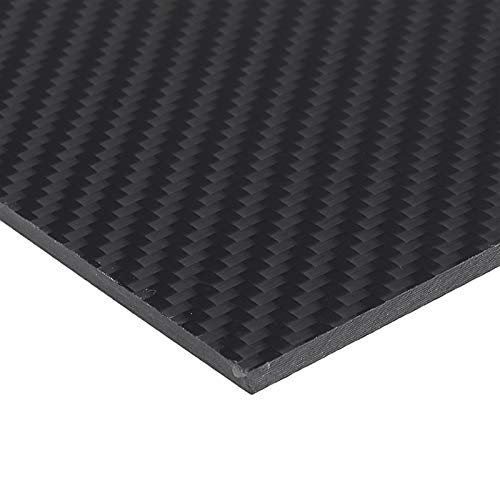 ARONG High Strength Carbon-Faser-Board 200x300mm Carbon Fiber Board Twill-Webart Matte Panel Carbon Fiber Vorstand ist geeignet for die Automotive Material Drohne (Size : 4mm)