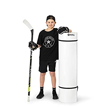Better Hockey Extreme Roll-Up Shooting Pad - Size 4 Foot x 8.5 Foot - Premium Training Aid for Passing Stickhandling and One Timers - Simulates The Feel of Real Ice - Weather Proof Coating