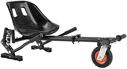 """Speeron Sitz für Hoverboard: Nachrüst-Kart-Sitz mit Federung für Elektro-Scooter (10""""), bis 120 kg (Hoverseat)"""