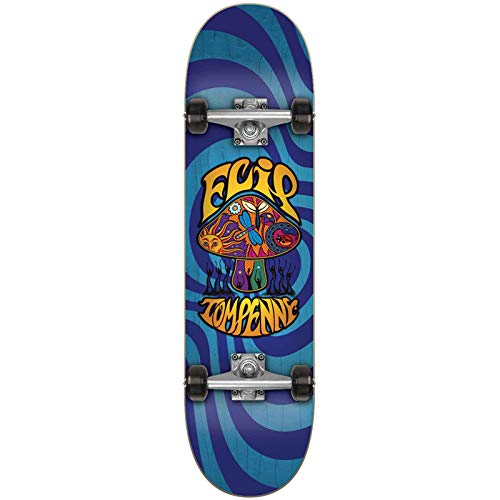 FLIP Penny Loveshroom Complete Skateboard, 20,3 x 70,9 cm, Erwachsene, Unisex, Blau (Blue), 20,3 cm