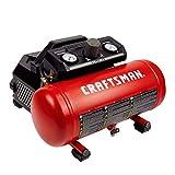 Craftsman Air Compressor, 1.5 Gallon 3/4 HP Max 135 PSI Pressure Portable Oil Free Maintenance Free, CMXECXA0200141A