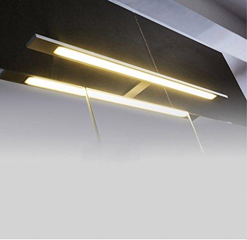 Lámpara LED Espejo Luz frontal, Cuarto de baño Espejo Luz WC Nórdico Minimalista Cuarto de baño Espejo Lámpara Luces de baño (Color : White light)