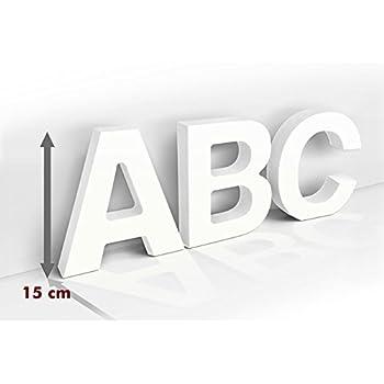 K&L Wall Art A - Dekobuchstaben - 3D - 15 cm Buchstabenhöhe