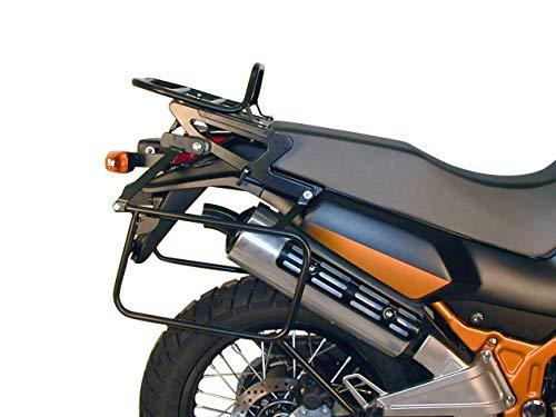 Hepco&Becker Seitenkofferträger festverschraubt - schwarz für Kawasaki KLE 500