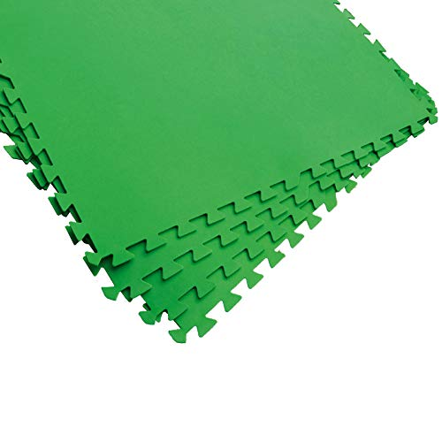 Bestway Flowclear Bodenschutzfliesen-Set, 8 Stück á 81 x 81 cm, grün Pool-Zubehör,