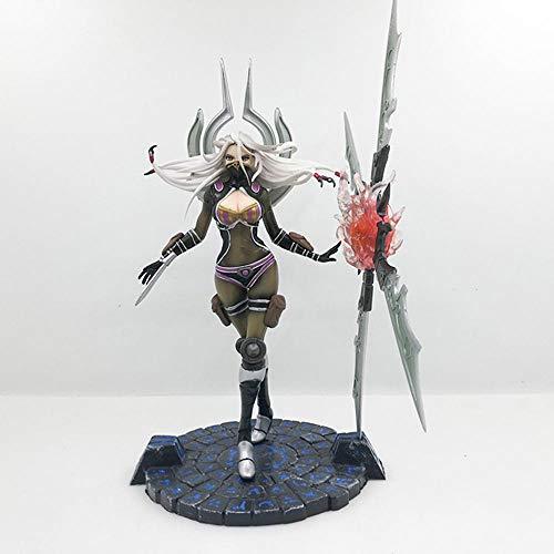 QAL Anime Figur Irelia Spiel Charakter Modell Figur Handgemachte Statue Kinderspielzeug Geschenk 23CM