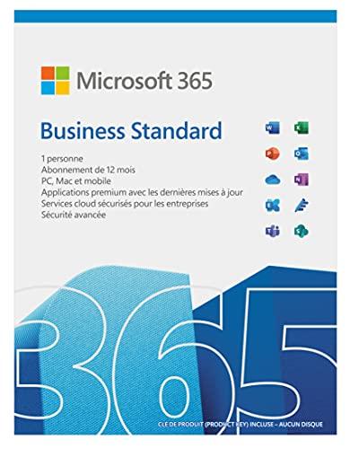 Microsoft 365 Business Standard I Téléchargement | PC ou Mac