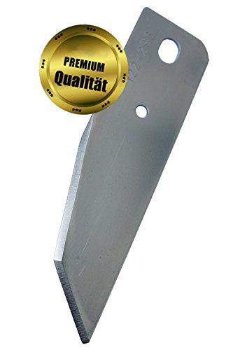 6 Ersatzmesser, Ersatzklingen, hochwertige Edelstahlqualität, für Alko Efco Brill Mähroboter inkl. Schrauben