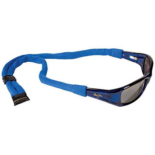 Croakies XL Baumwolle Suiters Eyewear Retainer, königsblau