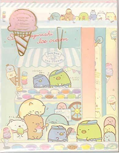 LH64101 すみっコぐらし ぺんぺんアイスクリーム レターセット