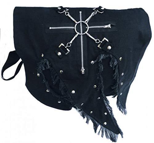 Dark Dreams Gothic Punk Mittelalter Tasche Comitis, Farbe:schwarz