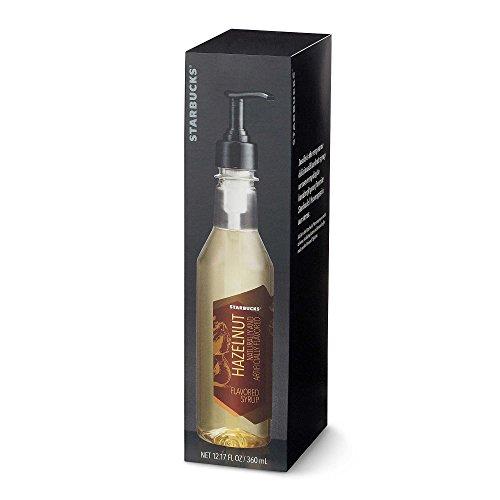 Starbucks Coffee Hazelnut Syrup with Pump Dispenser (Boxed)