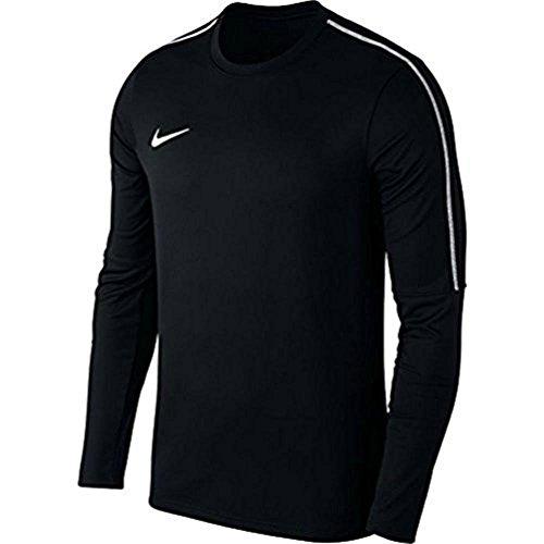 Nike Herren Dry Park 18 Langarmshirt, Schwarz (Black/White), M