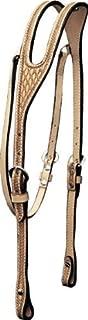 Billy Cook Saddlery Ear Headstall - Basket Tooled