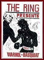ポスター トーマス キルパー THE RING ウォーホル&バスキア 2000 額装品 ウッドベーシックフレーム(レッド)