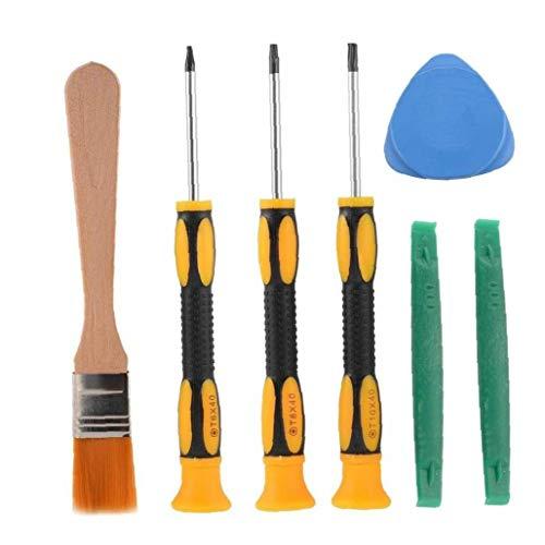 PiniceCore 7pcs / Set Destornillador De Herramienta De Reparación Clean Kit De Herramientas para/Controlador De/Juego