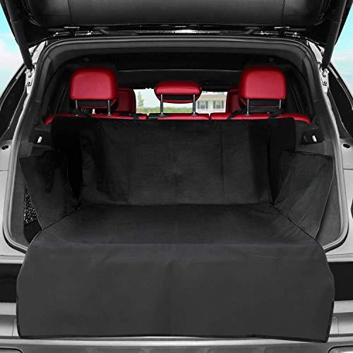 Mediawave Store - Telo Auto per Cani 174745 Protezione Bagaglio Copertura Universale per Cofano Auto, Resistente e Impermeabile, Antisporco, Tappeto per Auto Antisporco 120x120cm