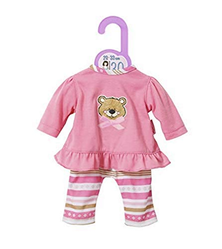 Zapf Creation 870822 Dolly Moda Pyjama Puppenkleidung 28-33 cm