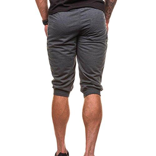 Logobeing Pantalones Cortos Hombre Deporte Bermuda Jogging ...