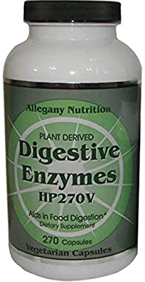 Allegany Nutrition Digestive Enzymes - 270 Count