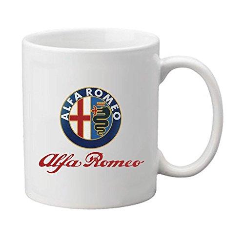Mensuk ALFA Romeo Custom Personalized Coffee Cup Decorative Ceramic Water Coffee Mug - from Zeroend Design