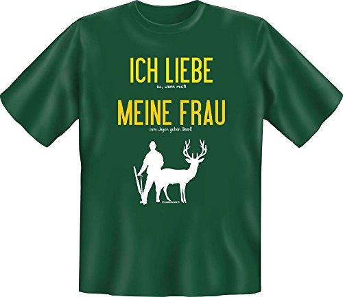 Rahmenlos Chasseur – J'aime Ma Femme – Fun T-Shirt – Tailles S, M, L, XL, XXL XXL Mehrfarbig