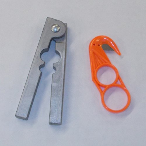 DakotaLine Aluminum Tail Stripper & Plastic Zipper