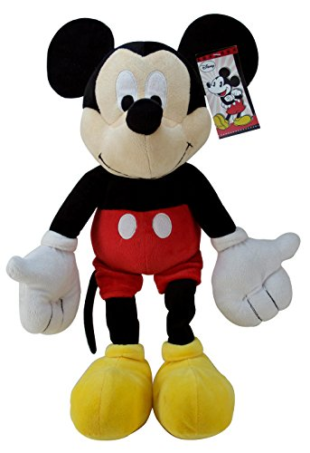 Jay Franco Disney Mickey Mouse Classic Plush Pillow Buddy Super Soft Polyester Microfiber