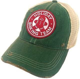 Judith March Holiday Baking Team Baseball Hat - Green