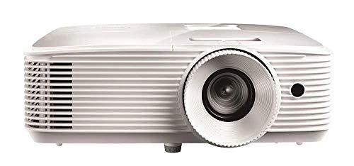 Optoma EH335 Desktop-Projektor 3600ANSI Lumen DLP 1080p (1920 x 1080) 3D Kompatibilität Weiß Beamer – Beamer (3600 ANSI Lumen, DLP, 1080p (1920 x 1080), 20000:1, 16:9, 711,2 - 7645,4 mm (28 - 301