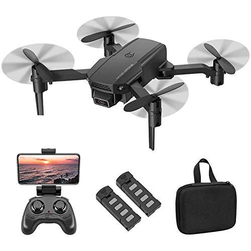 UWY Mini Drone Avec caméra 4K HD Pour caméra FPV Pour adultes et Enfants, Quarcoptère RC Pliable Avec maintien d'altitude, Retour d'une clé, Mode sans tête, retournements 3D, vol de trajectoire