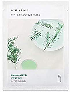 Innisfree My Real Squeeze Mask Sheet 18 types 20m x 5 pcs