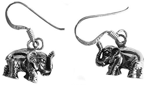 Ohrhänger/Ohrringe Krafttier Elefant/Elephant - Yoga Esoterik Spiritualität Astrologie Meditation Energie