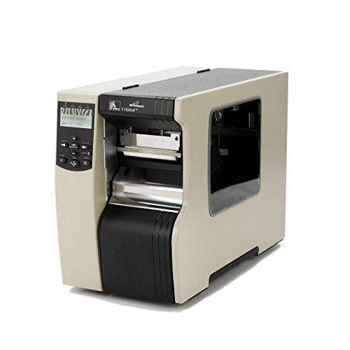 Zebra 110Xi4 High Performance Thermische Printer 203dpi / 8 dot, 102mm printbreedte, 16MB SDRAM, 8MB Flash, ZPL, USB, Parallel, Serie, ZebraNet 10/100 Print Server + AIP 5V + Cutter