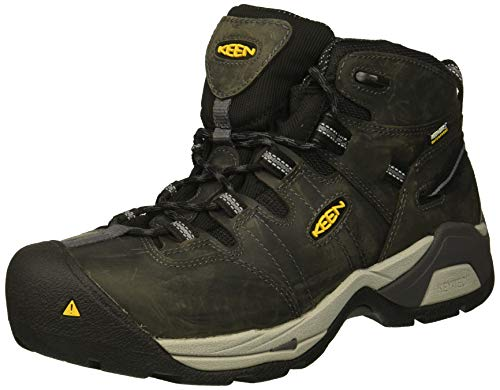 KEEN Utility Men's Detroit Xt Mid Steel Toe Waterproof Industrial Boot
